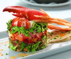 ENSALADA DE LANGOSTA Y MANGO (lobster mango salad) #recetas