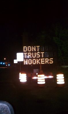 DON'T TRUST HOOKERS...