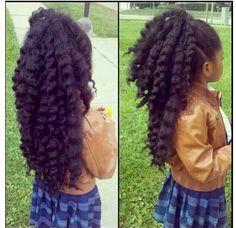 Teach them to love their natural hair