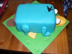 Perry Platypus cake