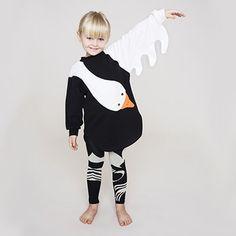 Wings Swan Dress by Bang Bang Copenhagen - Junior Edition  - 2