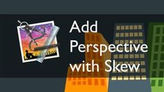 In this tutorial, you'll learn how to use Artboard's 'Skew' function to distort objects and add perspective. | Difficulty: Intermediate; Length: Quick; Tags: Artboard, Drawing, Vector, Graphic Design, Illustrator, Shapes, Mac, OS X