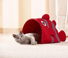 Die perfekte Schlafhöhle- #Katzen-Spiel- und #Raschelsack für €8,95 bei #Tchibo