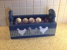 A place for eggs in my kitchen
