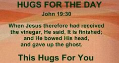 Hug for the day.