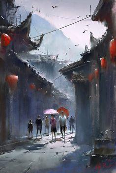 练习, Ivan 小红花 on ArtStation at https://www.artstation.com/artwork/mO1Ad