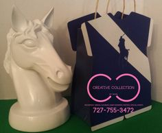 Horsemen Inspired Onesie Gift Bags sold in sets by ccbyshon