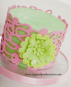 Chocolate Wrap cake - by SugarEdProductions @ CakesDecor.com - cake decorating website