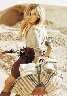 Dusty Desert Pictorials - Italian Marie Claire March 2010 'Planet Earth' is Smokin' (GALLERY)