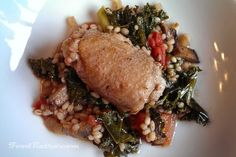 Balsamic Chicken with Grains and Greens
