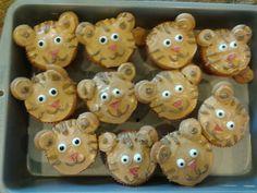Daniel Tiger Cupcakes!