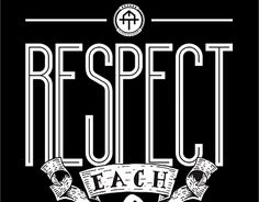 """Check out new work on my @Behance portfolio: """"Respect Each Other""""…"""