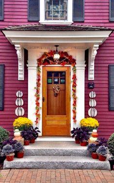 Salem, Massachusetts entryway