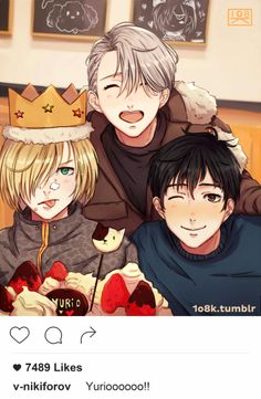 Yuri!!! on ICE Viktor Yuri and Yurio