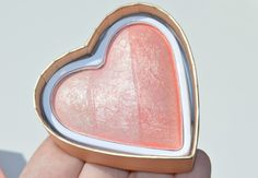 Makeup Revolution Peachy Pink Kisses Blushing Hearts Baked Blusher