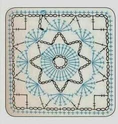 Transcendent Crochet a Solid Granny Square Ideas. Inconceivable Crochet a Solid Granny Square Ideas. Crochet Motif Patterns, Crochet Blocks, Granny Square Crochet Pattern, Square Patterns, Crochet Diagram, Crochet Chart, Crochet Squares, Crochet Granny, Mode Crochet