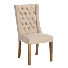 Kipling Fabric Dining Chair, Cream and Oak available online at Barker & Stonehouse. Browse our fabulous range today!