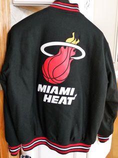 NBA Miami Heat Wool Reversible Jacket #Gift #NBA #Holidays