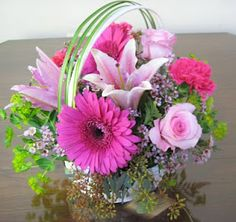 looking for may basket ideas for fresh flowers