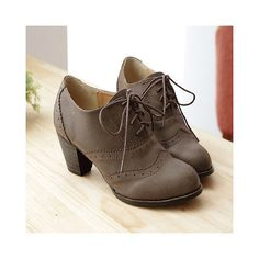 oxford heels....I wanna incorporate these into my winter church wardrobe