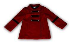 Manteau Edgar, rouge