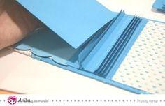 Aprender con este tutorial cómo hacer una encuadernación casera en espina paso a paso. Un tipo de encuadernación casera muy práctica y fácil de realizar.