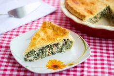 Spinach and Bacon Pie: Spinach and Bacon Pie: This pie is full of veggies, bacon and cheese, sealed up in crispy double crust. Yummy!
