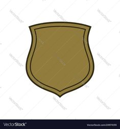 Shield shape gold icon simple flat logo on white Vector Image , Stone Texture, Gold Texture, Retro Vector, Vector Free, Texture Sketch, Happy New Year Fireworks, American Flag Background, Fireworks Background