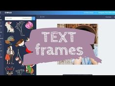 Text Frames - an easy tool to help you fill your text with an image of your choice. It's trendy, looks really professional and now is super easy to do on your own! Шрифты с рисунками Free Graphic Design Software, Text Frame, Free Frames, Edit Text, Bold Fonts, Create Photo, Texts, Photoshop, Make It Yourself