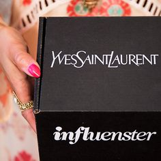 #VoxBoxHINT SPREAD THE WORD!! More from YSL coming soon!!! @Influenster