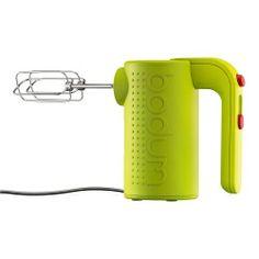 Bodum Electric Hand Mixer in green, $50