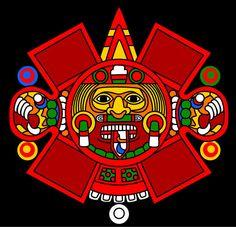 Tonatiuh - Aztec Sun god