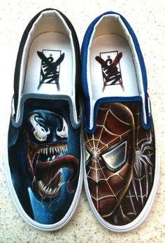 Venom Spiderman Shoes