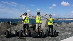 The Concierge Team from Seaworld Nara Resort with Segway ECO Xperiences Gold Coast