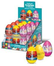 Surprise Eggs Mix with Spiderman, Cars and Princess.