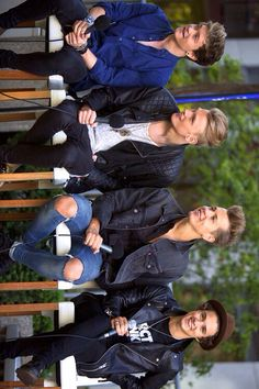 The Vamps. I can't just simply put 'the vamps' anymore. There has to be something to it, just because it IS, The Vamps. They're the most perfect, funny, incredible guys.