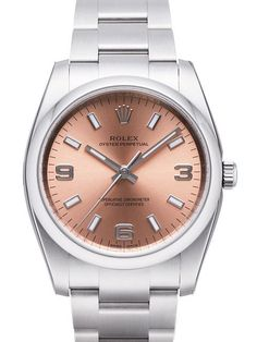Rolex Oyster Perpetual 34 114200 Pink