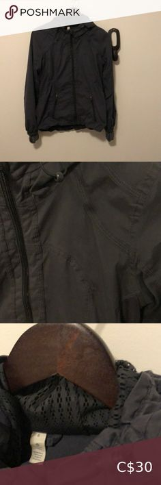 Lululemon jacket Lululemon jacket, size 6. Cute lace accents in good. Deep grey color. The color Looks slightly worn which is reflected in the price. lululemon athletica Jackets & Coats Yoga Jacket, Running Jacket, Hoodie Jacket, Denim Jumper, Cropped Sweater, Spring Jackets, Winter Jackets, Ugg Winter Boots