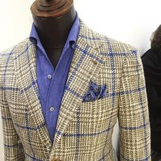 Tailorable bluelabel's new beautifull summer sport coat realise in Hong kong Turnk show #Tailorable #Ariston #Napoli