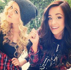 megan and liz pictures | Vids: Megan and Liz Share Beauty Tips! - M Magazine