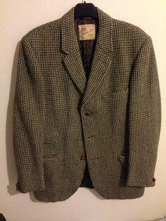 "vintage harris tweed mens blazer 40"" chest | eBay"