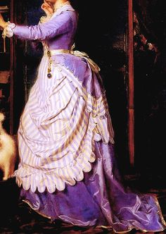 warpaintpeggy:  INCREDIBLE DRESSES IN ART (83/∞)An Indecisive...