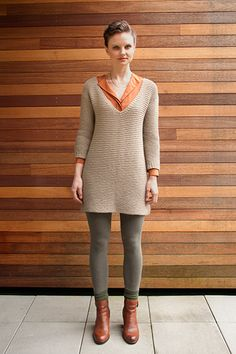 Shibui Mix pattern no. 22 by Lidia Tsymbal.  Available for sale on Ravelry