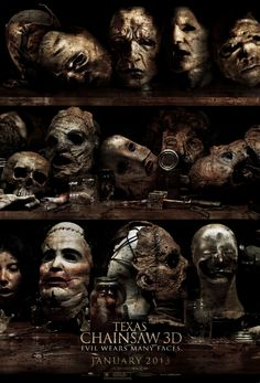 Check Out Scary New Texas Chainsaw 3D Poster! on http://www.shockya.com/news