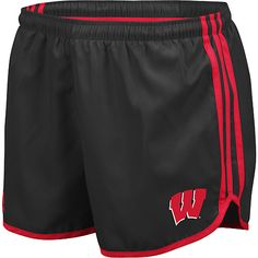 adidas Wisconsin Badgers Women's Princess Running Short - NFLShop.com