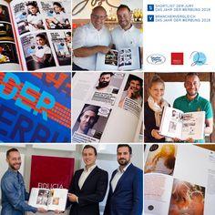"""YES! GEWONNEN! Drei ATTACKE-Kunden wurden beim """"Jahr der Werbung 2016"""" des Econ Forums, bei dem jährlich die beste Werbung aus Deutschland, Österreich und der Schweiz prämiert wird, ausgezeichnet So konnte das ATTACKE-Team für die Imagekampagne unseres Kunden Josi Cafe & Food by Meinl, die Citylight-Kampagne von Geydan-Gnamm Metzgerei-Catering & Partyservice sowie das Immobilien-Exposé """"Hoher Berg"""" von Fiducia Immobilien eine Auszeichnung holen!"""