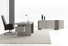 Günstige Schreibtische fürs Büro und Home Office - neutral günstig schreibtisch fürs büro home office grau oberflächen