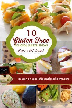 10 Gluten Free School Lunch Ideas Kids Will Love - Spaceships and gluten free kids lunch - Gluten Free Recipes Lunch Snacks, Lunch Recipes, Healthy Snacks, Healthy Recipes, Celiac Recipes, Dinner Recipes, Lunch Box, Kid Snacks, Delicious Recipes