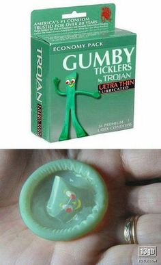 Gumby?  I would have guessed pokey...