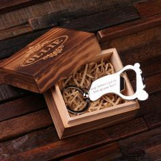 Personalized Polished Stainless Steel Key Chain & Bottle Opener – Foot with Box